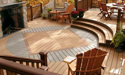beautiful deck for patio